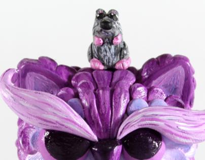 Kuri & Bota - Custom Micro Trikky commission 2013