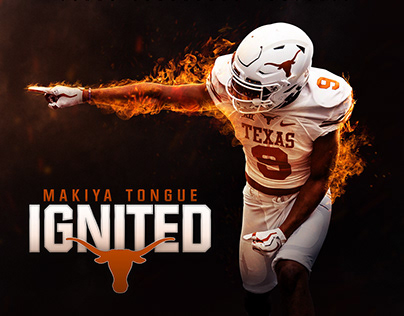 Texas Football 2019 Recruiting Graphics
