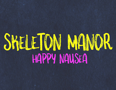 Skeleton Manor - #LateNightAlbumDesign