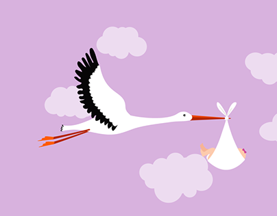 Stork Baby Delivery