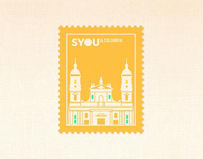 Estampillas - SYOU&Colombia