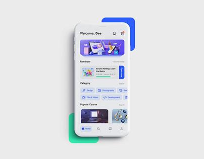 Espace App - Home Screen