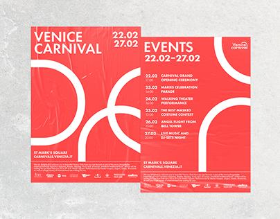 Venice Carnival visual identity