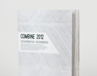 Combine Art Exhibition Catalog