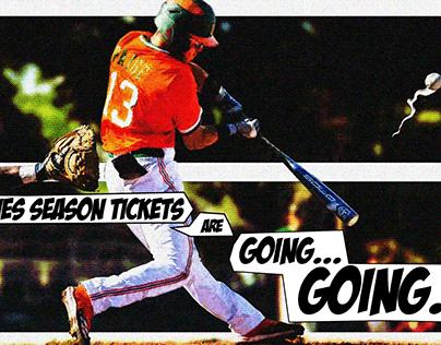 2020 Miami Hurricanes Baseball Comic Strip Animation