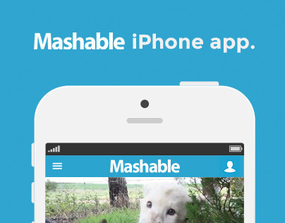 Mashable iPhone App Redesign