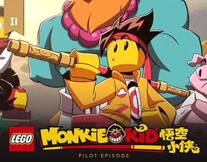 MONKIE KID_Pilot_Character Design Portfolio