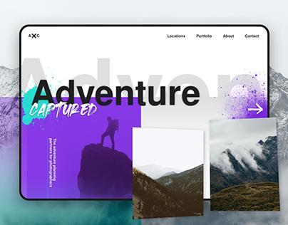 'Adventure Captured' Design & Brief Breakdown