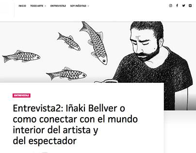 Interview in art magazine