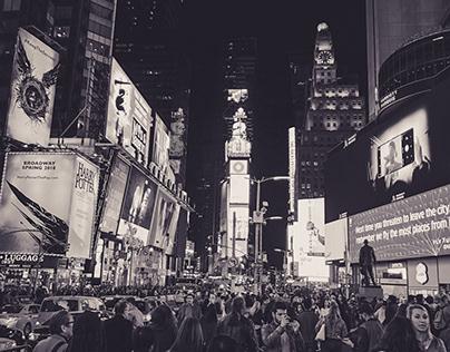 New York / Shot iPhone 8 Plus