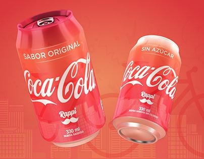 COCA-COLA + RAPPI Special Edition Can