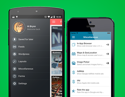 FullApp - Multi purpose mobile app