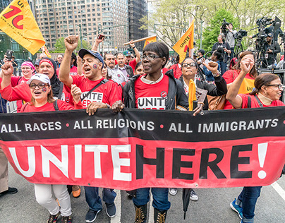 Immigrant and Workers Rights Rally, Foley Square, NYC