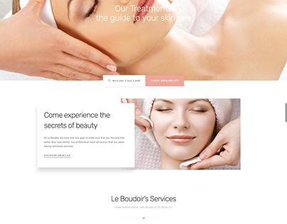 Le-boudoir Treatment Lounge