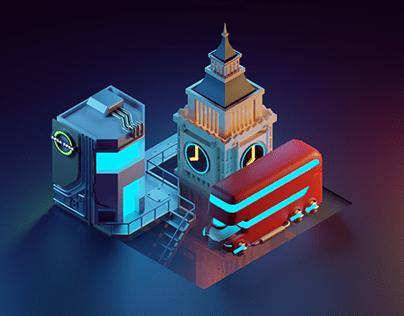 Blender   Cyberpunk