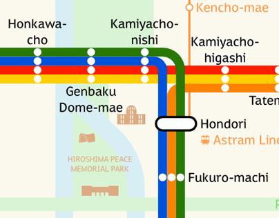 Hiroden Map