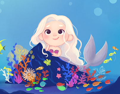 The little mermaid by Camilla Frescura