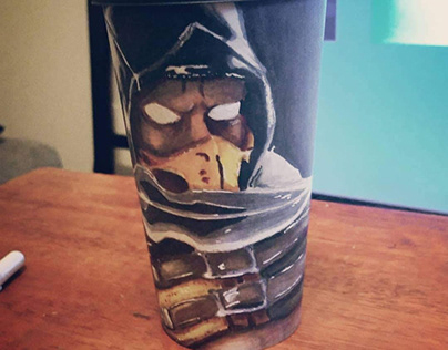 Scorpion Coffee Cup
