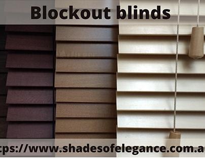 Blockout Blinds | Shades of Elegance