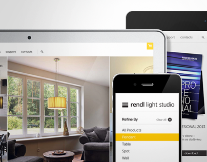 Rendl Brand Identity and Website Design