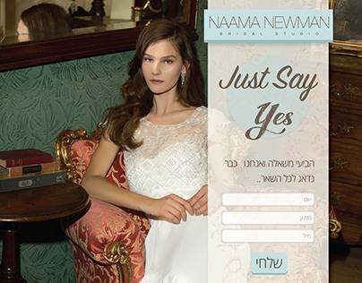 Graphic Design For Naama Newman Bridle Studio