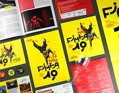 FIMFA Lx 19 - Festival Branding