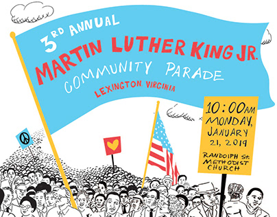 3rd Annual MLK Parade Poster
