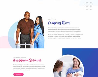 Hospice Care Website