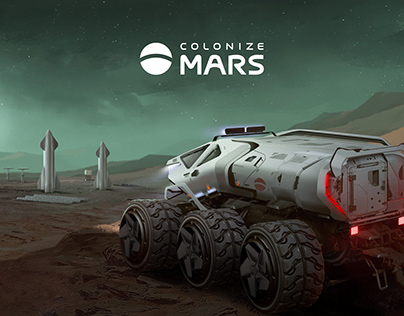 COLONIZE MARS | Digital cards collection NFT packs