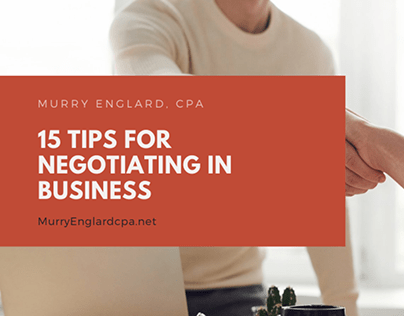 15 Tips for Negotiating in Business