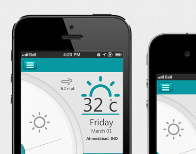 Weather App UI