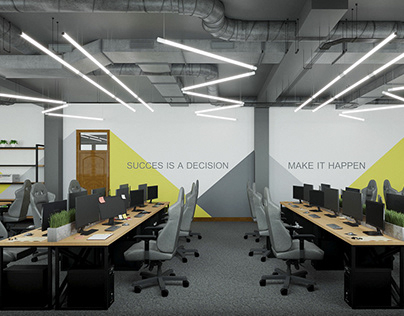 """Office design for """"Sale`s Up"""" in BC """"Demievsky"""""""