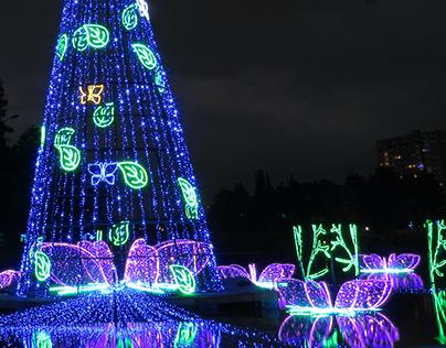 Diseño Navidad Bogotá 2017