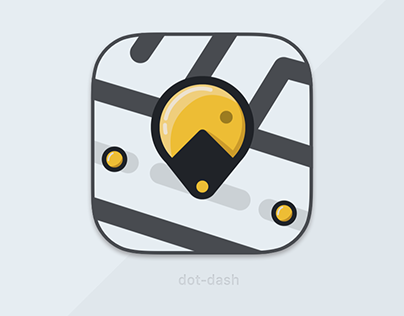 App Icon Design: Dot-Dash
