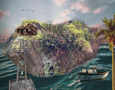 île perdue !