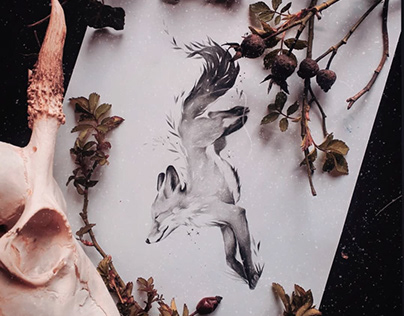 Rysunek, projekt pod tatuaż