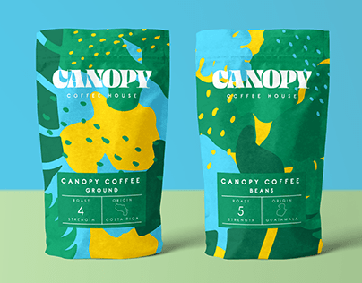 Canopy Coffee House Branding