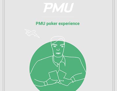 PMU Poker experience