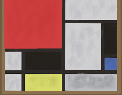 I like this colors of Piet Mondrian