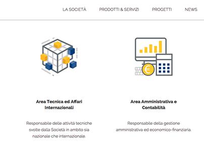 Website for Aiscat servizi