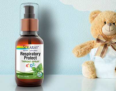 Packaging design for Dietary Supplement/Throat spray