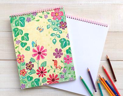 In The Garden Sketchbook