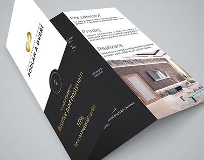 Trifold brochure and billboard