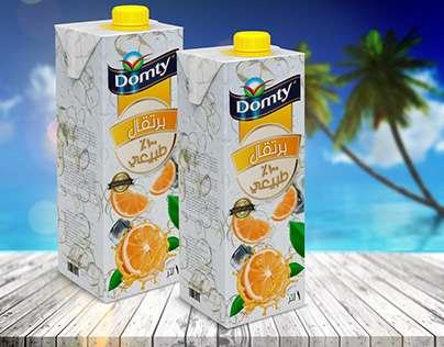 Unofficial Domty juice pack redesign