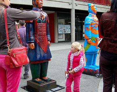 Terracotta Warrior in Burrard Street