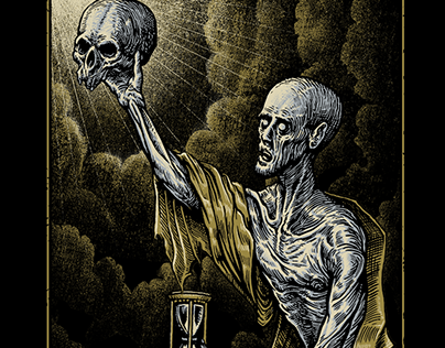 Trivium tees illustration