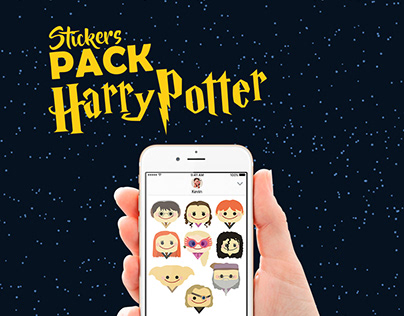 Stickers PACK || HARRY POTTER