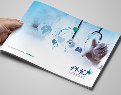PMC – Pioneer Medical Company Profile Design Jeddah