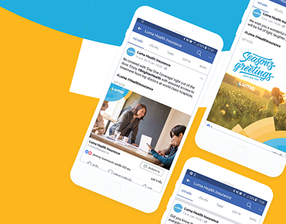 Luma Health Insurance | Social Media Templates