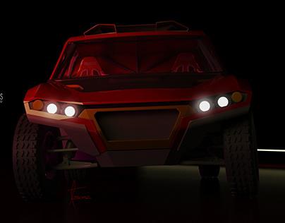 Sol T1 Rally Raid car